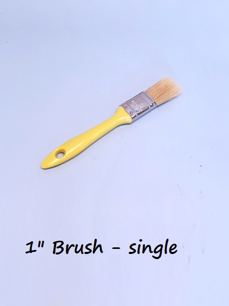 "Pure bristle Paintbrush 1"" - single"